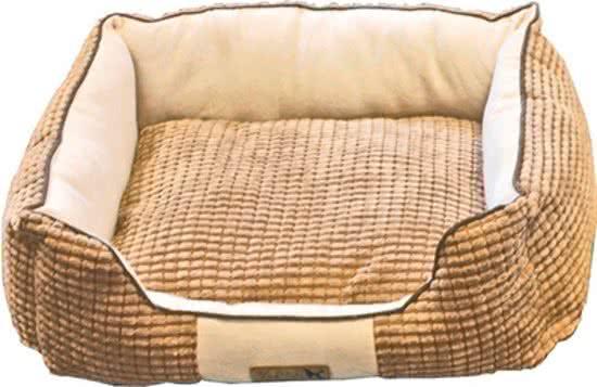 Merkloos Divan corduroy de luxe Beige | Wit 40x50 cm