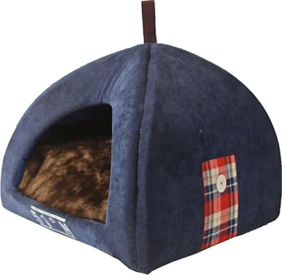 Merkloos Iglo lumberpet Wit 50x45 cm