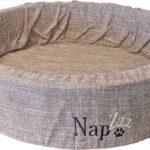 Napz-Hondenmand-linnen-Bruin-40-cm