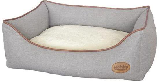 Nobby Comfortbed gero Lichtgrijs 40x45 cm