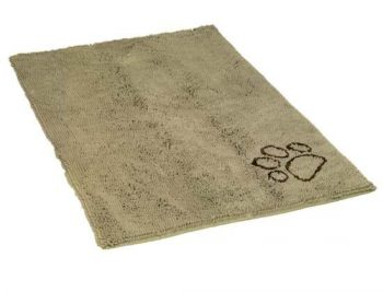 Nobby Honden droogloopmat Taupe 91x152 cm