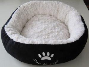 Nobby-Hondenmand-Donut-Laska-Zwart-50-cm