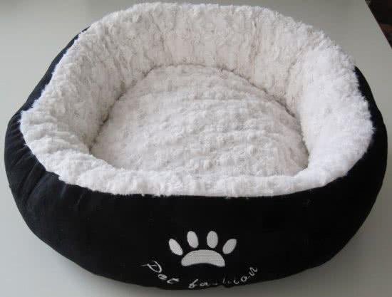 Nobby Hondenmand Donut Laska Zwart 50 cm
