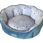 Nobby-Hondenmand-Spot-TurquoiseLichtblauw-45×40-cm