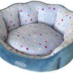 Nobby-Hondenmand-Spot-TurquoiseLichtblauw-65×57-cm