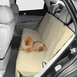 Nobleza Autostoelbeschermer hond of kat Khaki 73x56 cm