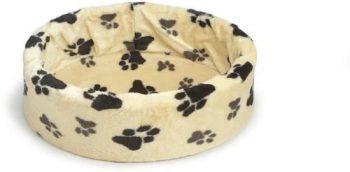 Pet Products Hondenmand - Voetprint Crã¨Me 70x72 cm