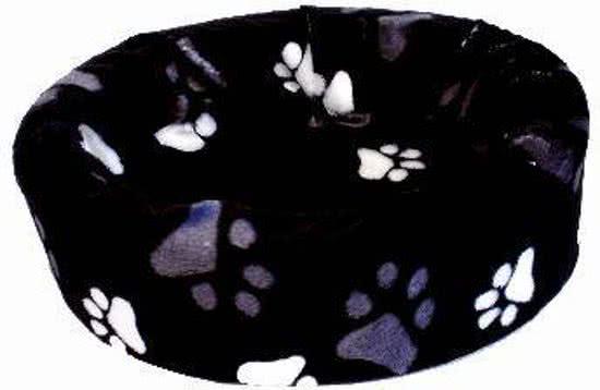 Petcomfort Bontmand Grote Poot Zwart 56x60 cm