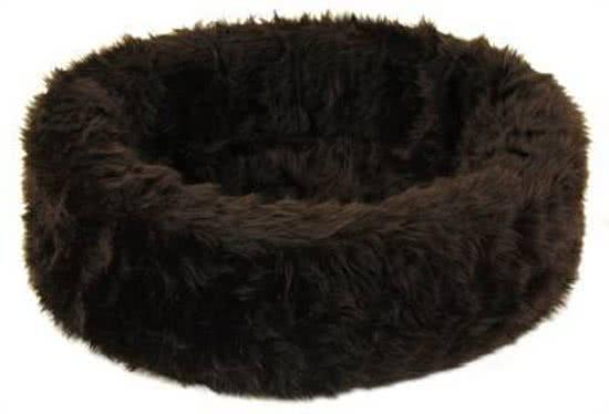 Petcomfort Bontmand - Hondenmand Bruin 90x90 cm