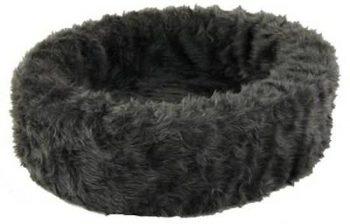 Petcomfort Bontmand Hondenmand Grijs 100x100 cm