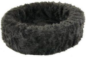 Petcomfort-Bontmand-Hondenmand-Grijs-60×60-cm-1