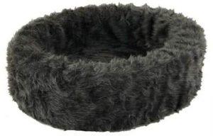 Petcomfort-Bontmand-Hondenmand-Grijs-60×60-cm