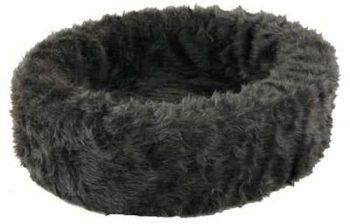 Petcomfort Bontmand - Hondenmand Grijs 60x60 cm