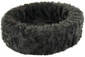 Petcomfort Bontmand - Hondenmand Grijs 70x70 cm