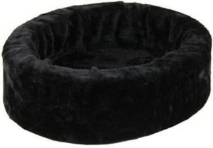 Petcomfort-Bontmand-Hondenmand-Zwart-60×60-cm