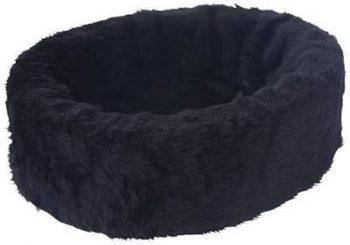Petcomfort Bontmand - Hondenmand Zwart 65x70 cm