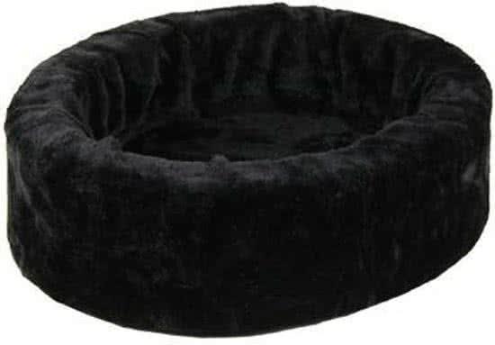 Petcomfort Bontmand Hondenmand/kattenmand Zwart 40x40 cm