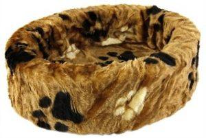 Petcomfort-Hondenmand-Grote-Poot-Bruin-100×100-cm-1