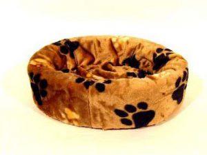 Petcomfort-Hondenmand-Grote-Poot-Bruin-100×100-cm