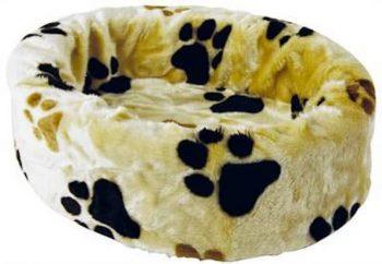Petcomfort Hondenmand Grote Poot Crã¨Me 70x70 cm