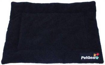Petgear Hondenmat Zwart 53x76 cm