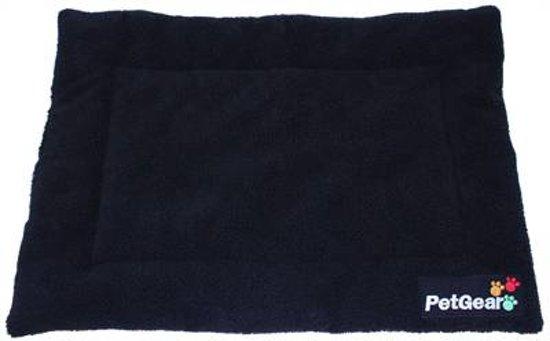 Petgear Hondenmat Zwart 71x107 cm