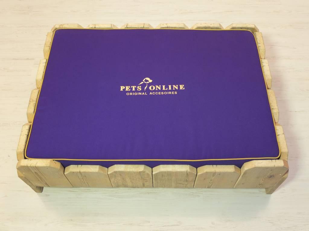 Petsonline Steigerhouten hondenmand model P3
