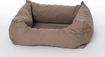 Rebel Petz Box Bed Taupe 67x80 cm