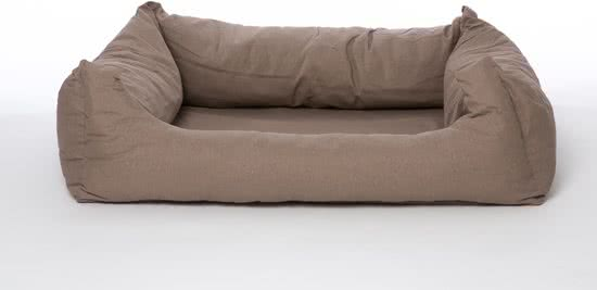 Rebel Petz Box Bed Taupe 95x120 cm