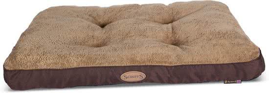 Scruffs Cashmere - Hondenbed Chocoladebruin 60x70 cm