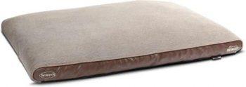Scruffs Chateau Memory Foam Plush - Hondenkussen Bruin 75x120 cm