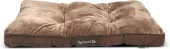 Scruffs Chester Mattress Hondenkussen Bruin 58x82 cm