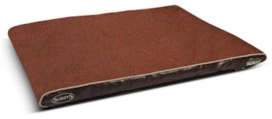 Scruffs Hilton Memory Foam - Hondenkussen Bruin 70x100 cm