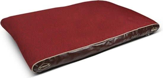 Scruffs Hilton Memory Foam Rood 70x100 cm