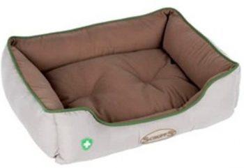 Scruffs Insect Shield Box Bed Beige | Bruin 50x40 cm