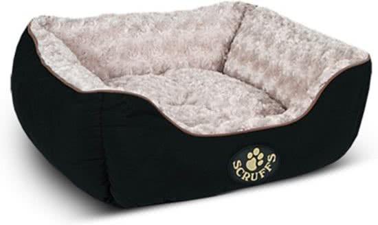 Scruffs Wilton Hondenmandd Zwart 40x50 cm