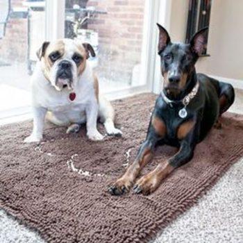 Soggy Doggy Deurmat Chocolate/Bone 65x90 cm