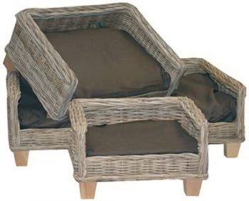 Surplus Rotan Hondenbed Naturel 47x60 cm
