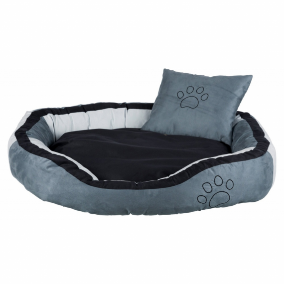 TRIXIE Hondenmand Bonzo 100x70x23 cm grijs en zwart 37717