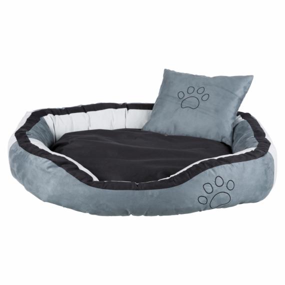 TRIXIE Hondenmand Bonzo 120x80x25 cm grijs en zwart 37718
