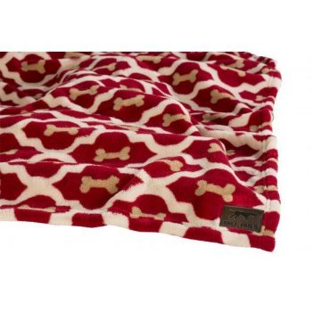 Tall Tails Hondendeken Fleece Red Bone 76 x 50 cm
