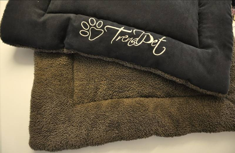 TrendPet Hondendeken Black Velvet 60 x 40 cm