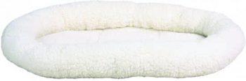 Trixie Mand ovaal Sheepskin Wit 38x47 cm