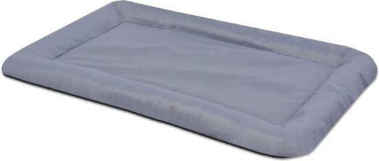 vidaXL Hondenmatras maat L grijs Grijs 67 cm