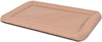 vidaXL Hondenmatras maat XL beige Beige 84 cm