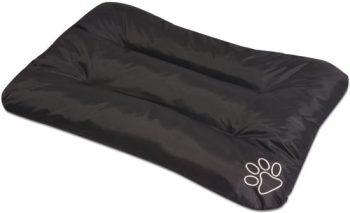 vidaXL Hondenmatras maat XL zwart Zwart 100 cm